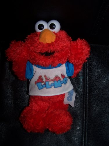 "Fisher Price 2004 ELMO E-L-M-O Plush 9"" - 1"