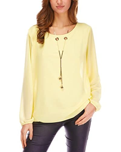 Romantik Paris Blusa Laure Amarillo