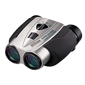 Nikon 7497 Eagleview Zoom 8¿24 X 25mm Binoculars (Silver)