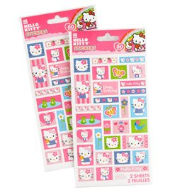 Hello Kitty Sticker Sheets - 1