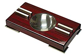 Prestige Import Group High Gloss Contemporary Art Deco Ashtray on Polished Feet