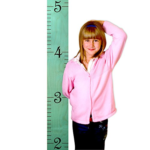 Kids Wall Hanging Wooden Ruler Growth Height Chart for Children | Robin's Egg