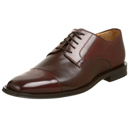Johnston & Murphy Men's Corbett II Cap Toe Oxford,Dark Brown,9 M