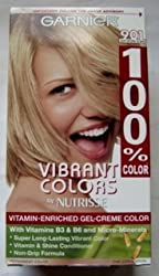 Garnier 100% Color Vitamin-Enriched Gel Crème, 901 Light Natural Blonde