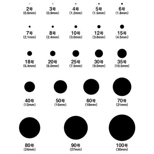 [レザーマニア]ハトメ抜き 15号(φ4.5mm)