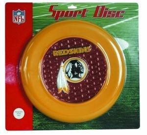 NEW Washington Redskins Sport Disc NFL Frisbee Dog Toy