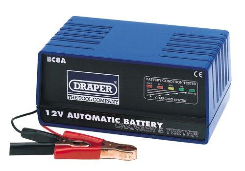 Draper 66800 12-Volt Automatic Battery Charger