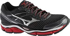 Mizuno Men's Wave Enigma 5 Running Shoe, Dark Shadow/Silver, 10 D US