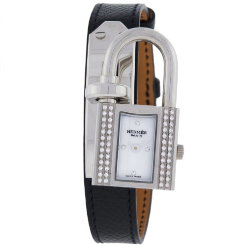 Hermes KE1232212 Original Diamonds Quartz Stainless Steel Women's Watch