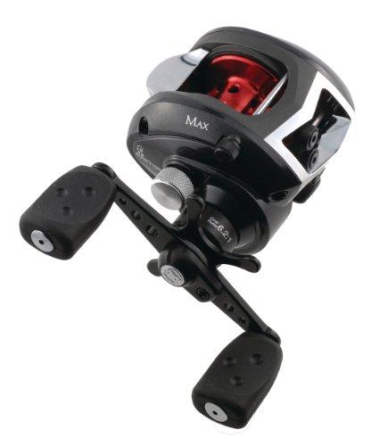 Abu Garcia Black Max Low Profile Reel, 12-Pound/160-Yard Capacity, Left-Hand