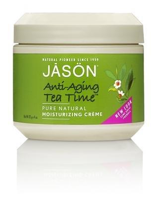 Jason Anti-Aging Tea Time Moisturizing Creme, 4 Ounce Jars (Pack Of 2)