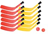 Champion Sports Scooter Board Hockey Set (Multi)