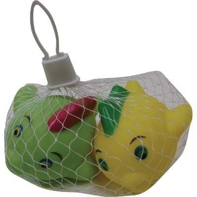 Bath Squeeze Toy - Set of Two (2) Play Fish - 1