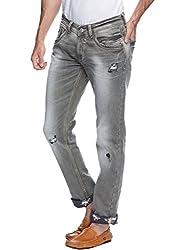 Spykar Men Denim Black Jean (34)