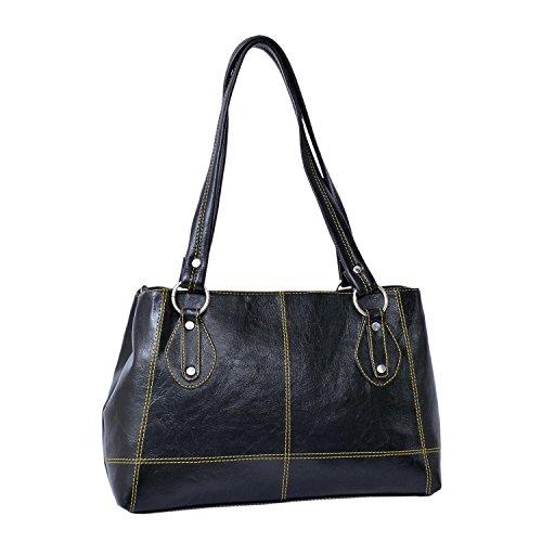 Bagaholics Handbag Shoulder Bag Ladies Purse Gift for women ( Black )