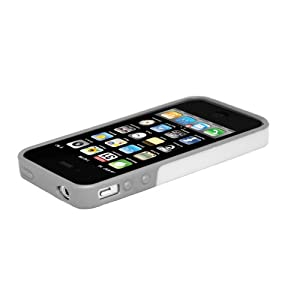 Hard Candy Cases Bubble Case for iPhone 4S - White