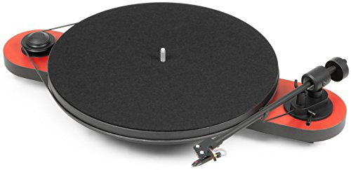 Pro-Ject Elemental Turntable (Red) (Turntable Elemental compare prices)