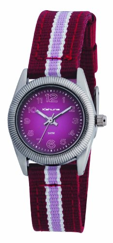 Kahuna Pink And Burgundy Ladies Watch &#8211; KLS-0177L