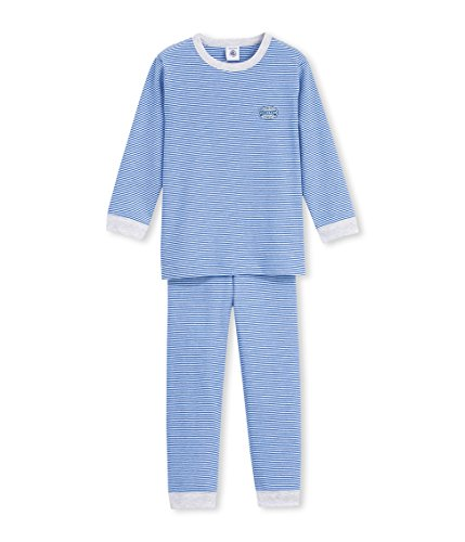 Petit Bateau Balart, Camicia da Notte Premaman Bambino, Blue (Delft/Ecume), 3 Anni