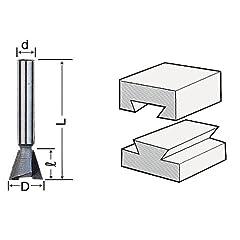 ライト精機 トリマー・ルータービット TR-7 呼称 6X12(2D) 商品名称 超硬アリギリ(トリマ用) [その他] [その他] [その他] [その他]