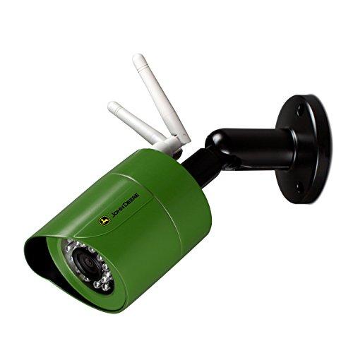''JOHN DEERE Wireless Outdoor HD Security Camera | Weatherproof Bullet Surveillance Camera w/ Wifi, S