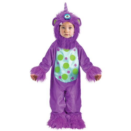 One Eyed Purple Monster Baby Toddler Infant Child Costume Small (6-12 Months)
