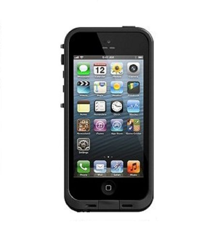 Lifeproof iPhone 5 Case - 1 Pack - Retail Packaging - Black