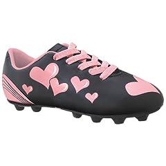 Buy Diadora Soccer Trax Hearts MD JR Soccer Shoe (Toddler Little Kid Big Kid) by Diadora