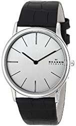 Skagen Men's 858XLSLC Theodor Quartz Two-Hand Stainless Steel Watch