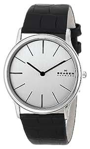 Skagen Men's 858XLSLC Theodor Quartz Two-Hand Stainless Steel Watch