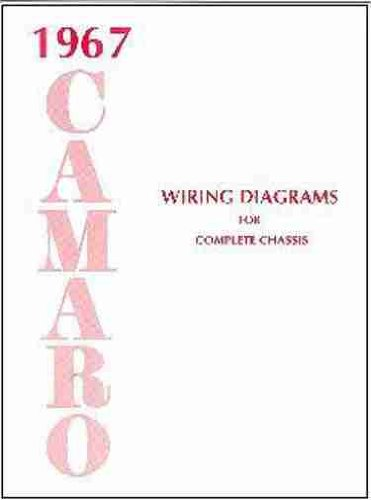 1967 CAMARO COMPLETE SET OF FACTORY ELECTRICAL WIRING DIAGRAMS & SCHEMATICS GUIDE - 8 PAGES. 67 CHEVY CHEVROLET (1967 Camaro Restoration compare prices)