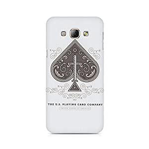 Mobicture Cards Premium Printed Case For Samsung A8