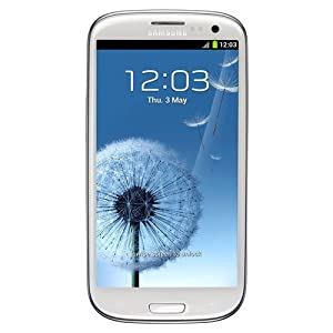 Samsung Galaxy SIII Smartphone (16GB, UK Sim Free Unlocked) - Marble White