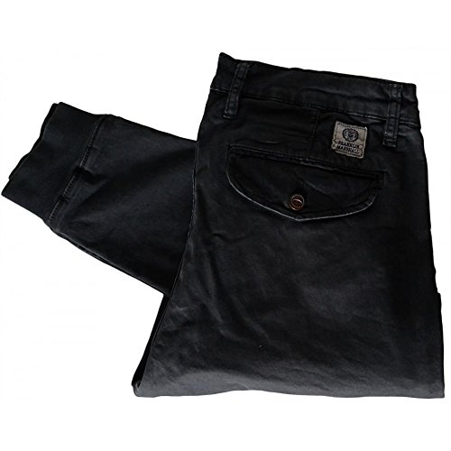 Franklin & Marshall -  Pantaloni  - Uomo Black 36W/Regular