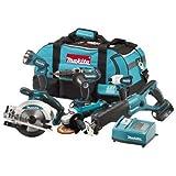 MAKITA LXT600 6Pc 18V LXT cordless kit