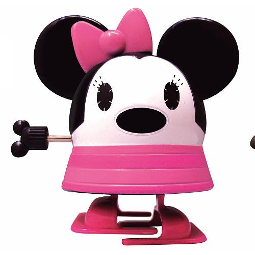 Disney Pook-a-Looz Minnie Mouse Wind Up Walker Series I - 1