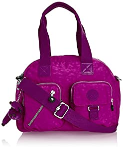 Kipling DEFEA K1363600Q Damen Schultertaschen 33x25x19 cm (B x H x T), Mehrfarbig (Purple Dahlia)