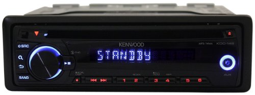 CD-MP3 Players: Brand New Kenwood Kdc-148 In-dash Car Cd/mp3