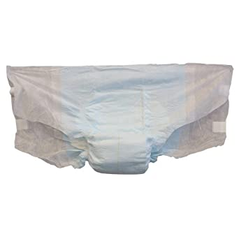 At Ease 93072SF Large Supra Fit Adult Disposable Briefs (6 Packs of 12)