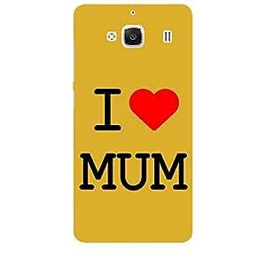 Skin4gadgets I Love Mumbai Colour - White Phone Skin for REDMI 2