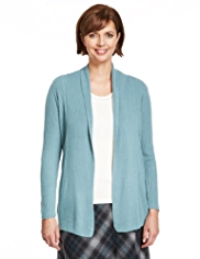 Classic Multi Ribbed Cardigan