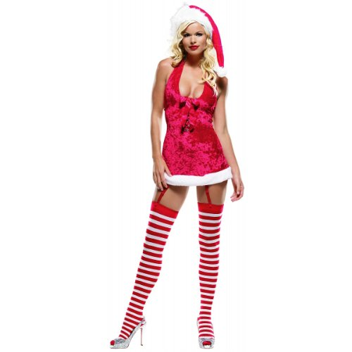 Miss Claus Costume - Medium/Large - Dress Size 8-12