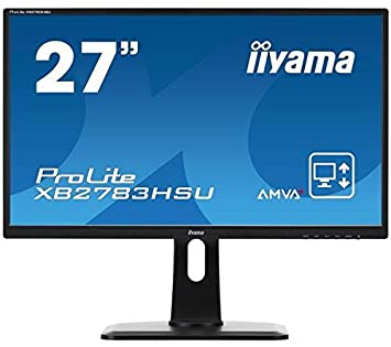 "ProLite XB2783HSU-1 - Ecran LED 27"" Full HD noir + MC385-2M - 1,8 m - Cable HDMI male / male"