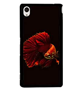 printtech Unique Fish Back Case Cover for Sony Xperia M4 Aqua::Sony Xperia M4 Aqua Dual