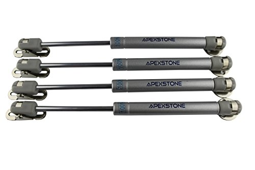 Apexstone 100N/22.5lb Gas Struts,Gas Springs,Gas Strut,Lift Support,Gas Shocks,Lid Stay,Lid Support,Set of 4 (Trailer Tailgate Lift compare prices)