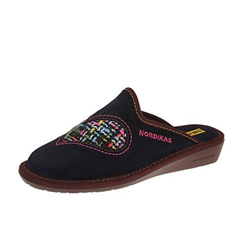 Nordikas Nordika Womens Pantofole 8130/8 Plus Purpura Orquidea EU41 Plus Purpura Orquidea