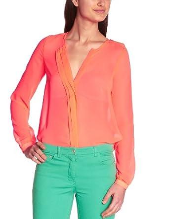 Sinequanone Damen Shirt   - Orange - Orange (Orange Néon) - 36 (Herstellergröße: 38)