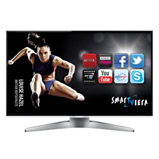 Panasonic TX-L42WT50B 42-inch Widescreen Full HD 1080p 3D Smart VIERA LED TV with Freeview HD and Freesat HD includes 2 Free Pairs of 3D glasses (New for 2012)