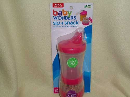 Baby Sippy Cup Snack Cup - 1