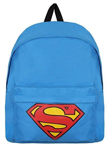 Superman Zaino Zainetto Backpack Logo Half Moon Bay